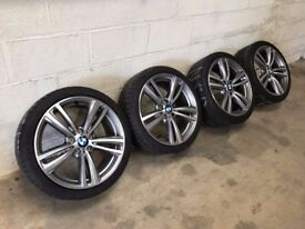 BMW 19 inch 3 series alloys BMW 19 inch 4 Series alloys M Sport Alloy Wheels F30 F31 F32 F33 442M