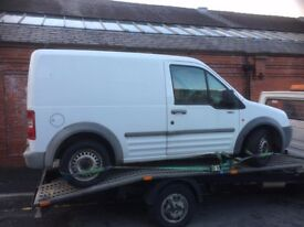 FORD TRANSIT CONNECT BREAKING ALL PARTS FOR SALE
