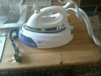 Brand new Steam iron with stand