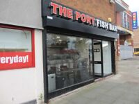 FULLY FITTED TRADITIONAL FISH & CHIP SHOP TO LET: ELLESMERE PORT: REF:8964