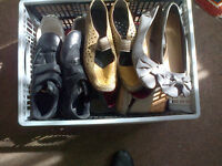 Selection of Ladies Shoes (Job Lot) Assorted Styles and Colours all size 5 - 6 (38 - 39)