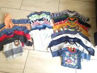 Baby clothes over 100 items.