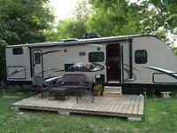 2013 Wilderness travel trailer with bunks