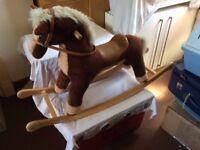 medium sized rocking horse only £10