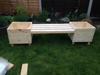 Plant pot benches