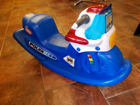 Little Tikes Police rocker.