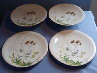 Vintage serving plate set
