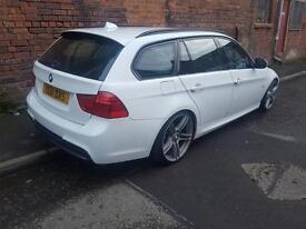 2011 (61) BMW 320d M SPORT TOURING ESTATE 117k FSH £7500 Ono