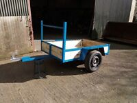 QUAD/ GARDEN TRACTOR TRAILERS 6FTX4FT