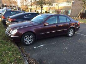 Mercedes Benz E280 Elegance - low mileage, excellent condition