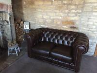 Chesterfield sofa & chair