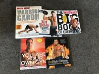 Selection of fitness books