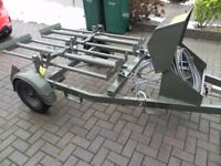 Trailer, trailer chassis