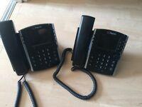 Polycom VVX410 telephones