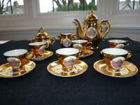 Vintage Porcelain Espresso Set