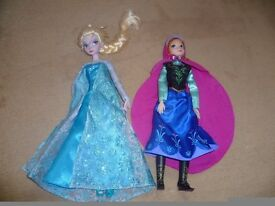 Disney Frozen Anna and Elsa Dolls