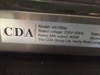 CDA integrated microwave