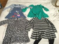 Bundle of girls clothes age 11/2-2