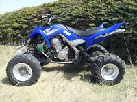 2007 YAMAHA RAPTOR R 700 NEW TIRES AND BUMPERS