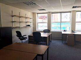 Self Contained Office 4/6 desks Enfield Town £1,100 plus VAT pcm