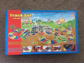 Kids toy track set new