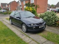 MG ZR 1.8 vvc, rare 160 bhp model, only 67k miles.