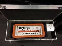 "Guitar Amplifier Head -Orange Thunder100 in flight case - Marshall AVT412XA Cab & FREE 15"" Speaker"