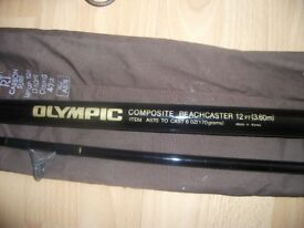 12ft Olympic Beachcaster Fishing Rod