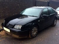 Volkswagen BORA 2003. With service history, 10 month MOT, automatic, diesel