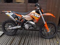 2009 KTM 250 exc enduro PX and delivery possible
