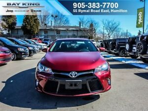 2017 Toyota Camry SE, HEATED SEATS, BACKUP CAM, BLUETOOTH, A/C