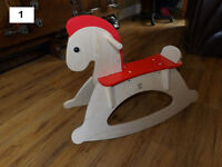 Wooden Rocking Horse By Hape Brand New