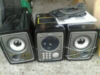 Philips CD and cassette player