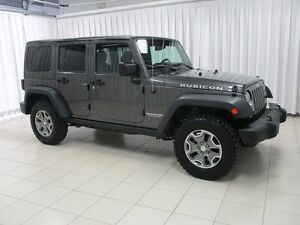 2017 Jeep Wrangler UNLIMITED RUBICON TRAIL RATED 4X4 REMOVABLE H