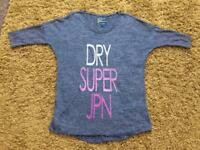 Ladies Superdry Top size Large - new without tags