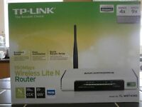 TP-LINK Wi-Fi Router.