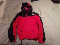 North Face red jacket for man