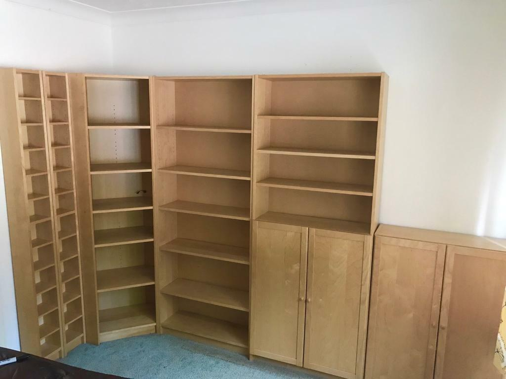 Ikea Billy Bookcase Units In Canton Cardiff Gumtree