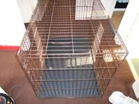 Dog cage for sale suitable a larger dog like 30-40Kg,great if your dog prefers is own space sometime