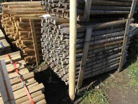 Timber fence post 75mmx100mmx1.65m