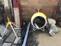 Cement Mixer - Free - Working