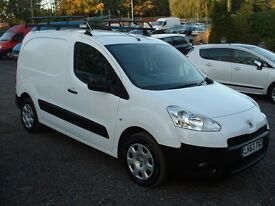 PARTNER 2013 PROFESSIONAL AIR-CON 3-SEATER ONE OWNER DRIVES SUPERB £4795 NO-VAT