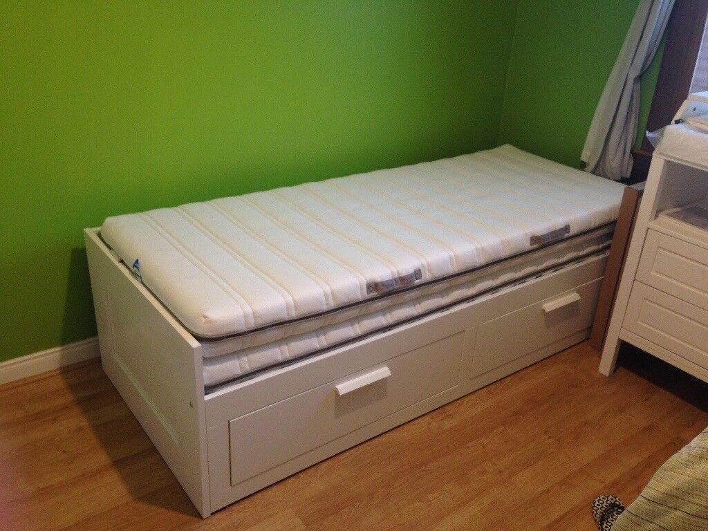 Guest Bed Brimnes Ikea Like New In Corstorphine Edinburgh Gumtree