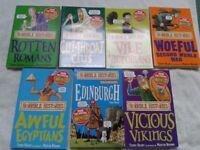 New Horrible Histories Book Bundle