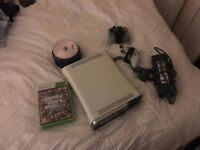 XBOX 360 + 2 joysticks + over 20 games including GTA 5