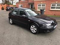 Seat Leon 1.9 Tdi diesel 2003 53 reg £895 cheap bargain passat golf Octavia