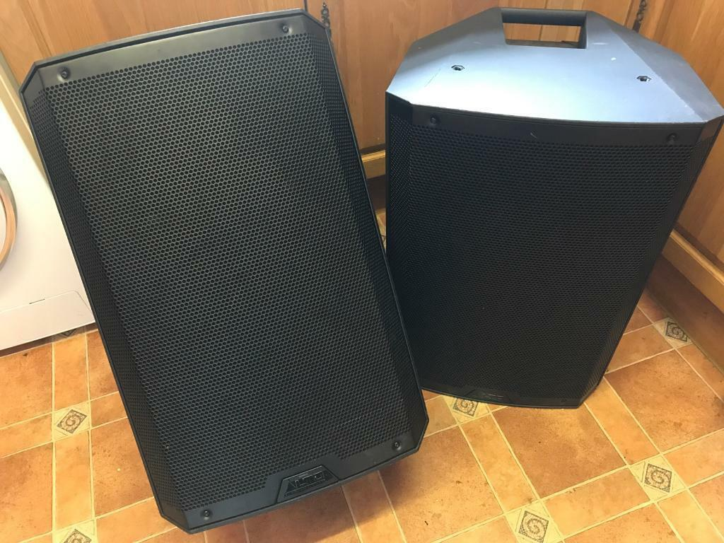 Pair of Alto TS215 1100 watt PA / DJ / Monitors / speakers