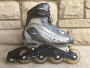 Like NEW Nike N-Dorphin 4 Inline Skates (Rollerblades) 78mm/80A Women's Size 7.5 Fitness/Recreational Skates