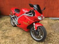 2001 triumph Daytona 955i only 13,200 miles,sounds and looks awesome!!