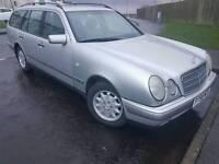 Mercedes automatic e200 58k